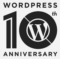 WP 10th Anniversary Logo